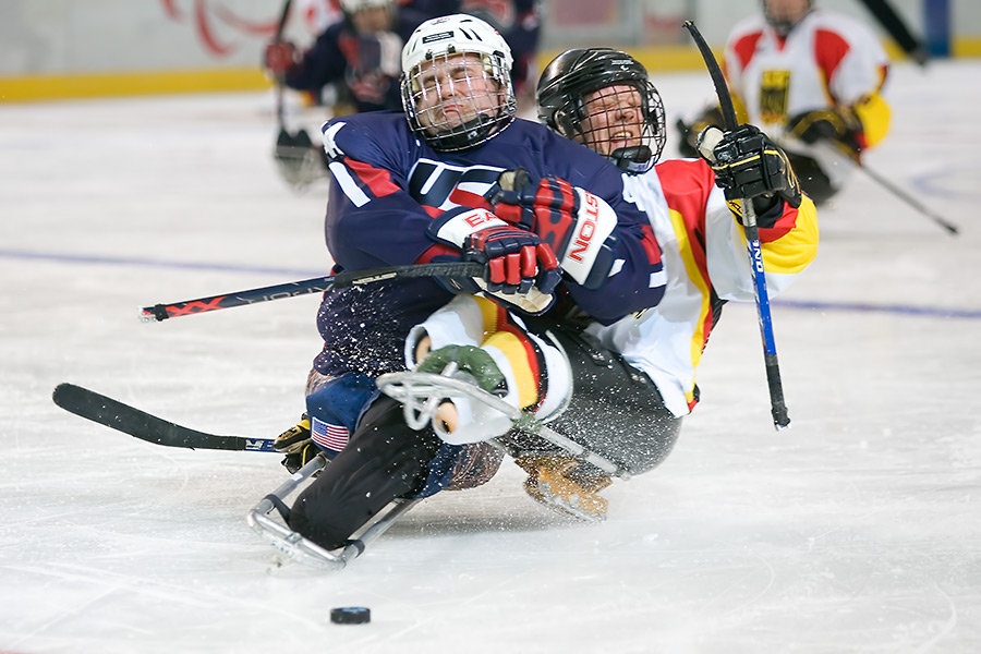 Paralympics 2006: USA - Germany
